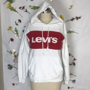 Like New! Levi's Spellout Cb Sportwear Hoodie